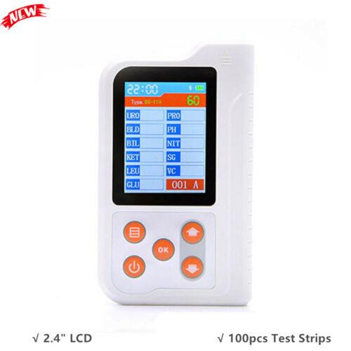 BC401 Urine Analyzer 11 Urine Routine Analysis w/ Bluetooth 100pcs Test Strips