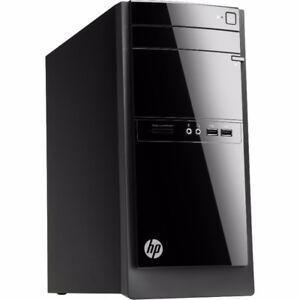 HP Desktop PC, QuadCore,6GoRAM, 1TBHDD (NEW), Windows 10