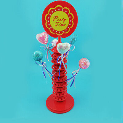 Adjustable Lollipop Display Rack 10 Layers 120 Holes Candy Holder Plastic