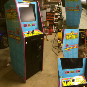 Beautiful arcade cabinet multicade machine