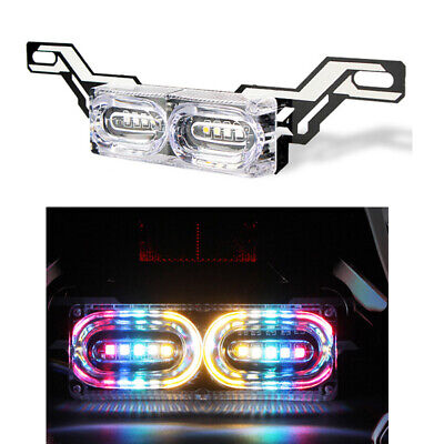 MOTORCYCLE FLASHING LED STOP BRAKE LICENSE PLATE LIGHT TAIL LIGHT FOR