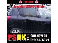Vauxhall Corsa D (2008) for Breaking BLACK