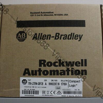 20182019 Allen-bradley Compactlogix 1mb Controller 1769-l27erm-qbfc1b Usa Fda