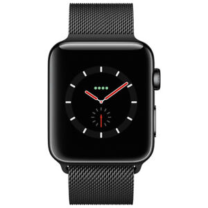 Apple Watch Series 3(GPS+Cellular)42mm Space Black  Brand New