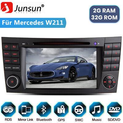 "7""Android Autoradio Für Mercedes Benz CLS E-Klasse W211 Bluetooth Navigation USB"