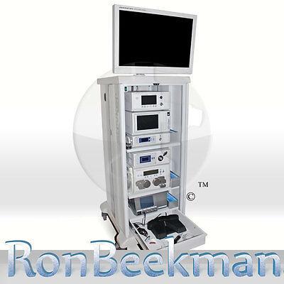 Stryker 1188 Hd Arthroscopy Laparoscopy Tower Elect Hdtv 26 Endoscopy Endoscopic