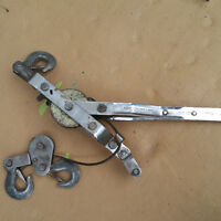 Hand ratchet cable-puller upto ->> 35000 lbs or 1750 KGS
