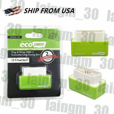 Eco OBD2 Benzine Economy Fuel Saver Tuning Box Chip For Petrol Car Gas Saving -
