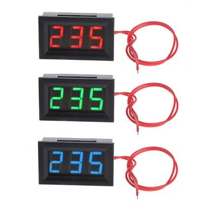 2 Wire Ac 30v-500v Led Voltmeter Voltage Meter Monitor Tester For 380v 110v 220v