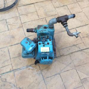 Gas powered pump