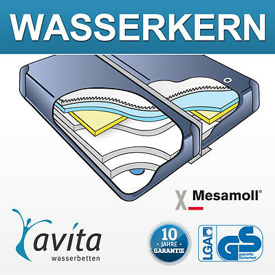 Wasserkern Wassermatratze DUAL SET - Alle Größen 1 Preis | Inkl. Thermotrennwand
