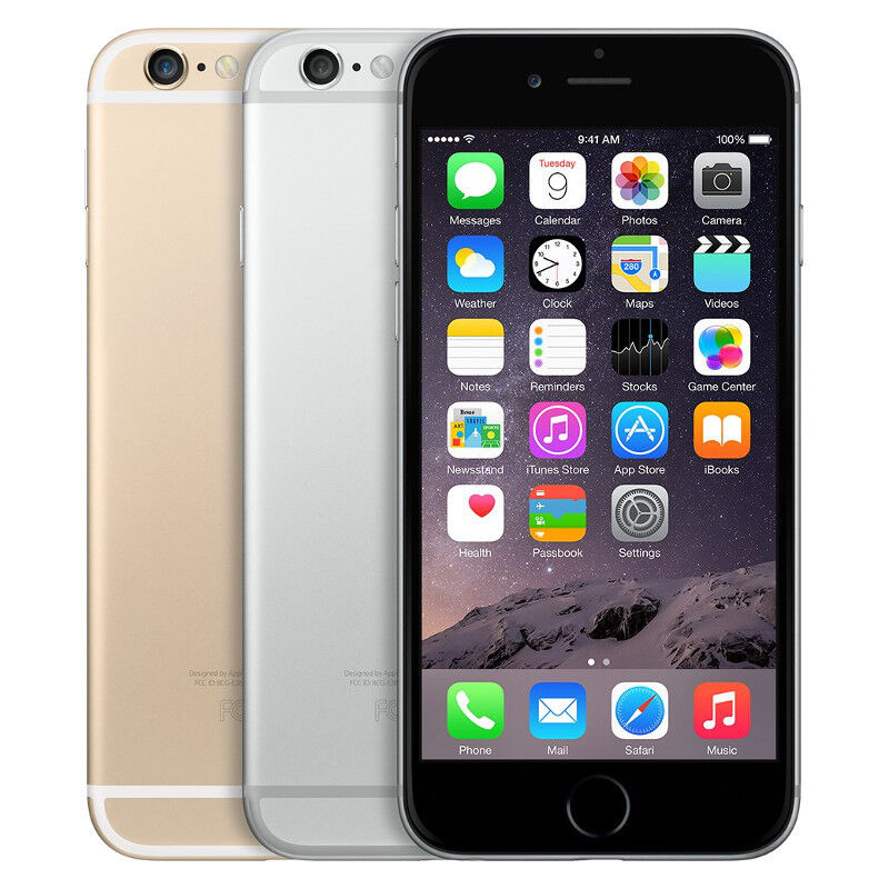 Apple iPhone 6 16GB 64GB 128GB Factory Unlocked AT&T Verizon T-Mobile Sprint
