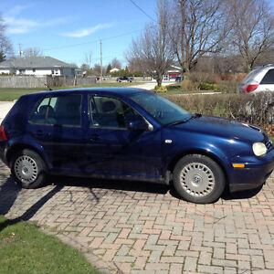 2002 Volkswagen Golf Hatchback