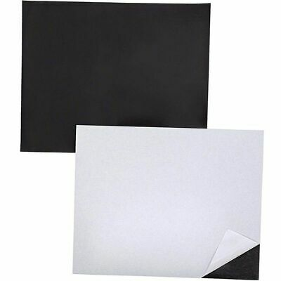 12-pack Magnetic Sheets With Adhesive Backing For Diy Magnets 10 X 8 Inches