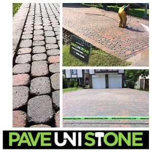 DRIVEWAY CLEANING - HIGH PRESSURE CLEANING - UNISTONE & CONCRETE West Island Greater Montréal image 8