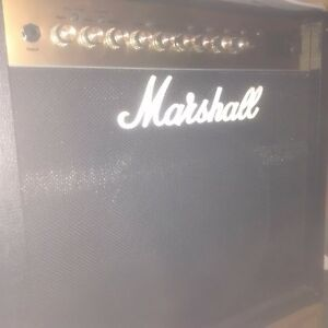Marshall MG50FX MINT w/4 button footswitch.