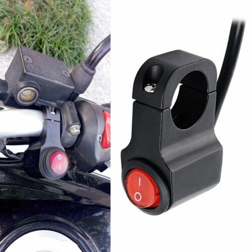 Universal Motorrad Lenker Scheinwerfer Lichtschalter Ein//Aus Schalter  22mm DA