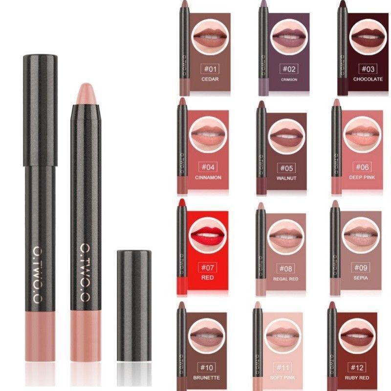 O. Two.o Make-Up Lippenstift Hautfarben Pfirsich Beige Rot Mua Elf Stift Liner