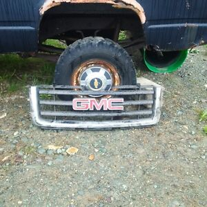 Chrome Grill to fit 2007 to 2011 GMC Pickup