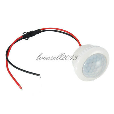 220v 50hz Pir Induction Light Control Ceiling Lamp Body Infrared Switch New