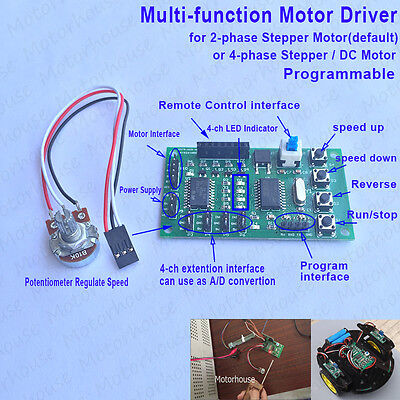 Multi-function Programmable Driver Controller Board For 24 Phase Stepper Motor