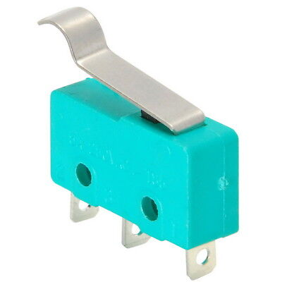 Spdt Miniature Snap-action Micro Switch With Offset Lever