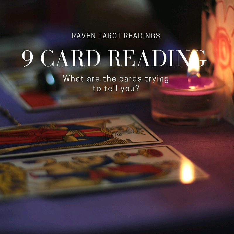9 card reading -tarot for past future and present | in Bolsover