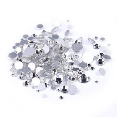 MajorCrafts® 700pcs 4mm ss16 Crystal Clear Glass Non-HotFix Rhinestone Gems
