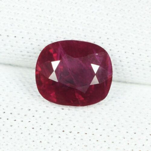 1.42   DAZZLING FINE QUALITY DEEP PINKISH RED COLOR NATURAL RUBY  See Vdo _ 5855