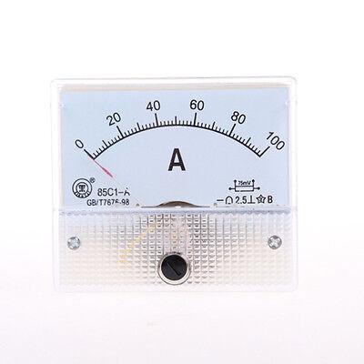 Analog Amp Panel Meter Gauge Dc 0-100a 85c1 Qc Hot Sale