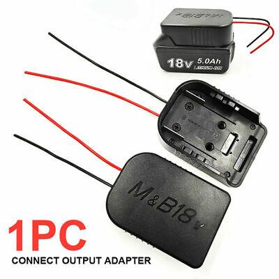 18V Adapter für MAKITA für BOSCH Akku-Ladestation mit DIY 1332 14AWG Kabeln RQ