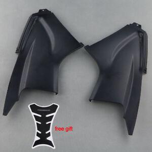 Black Pair Ram Air Tube Cover Fairing Parts For Yamaha YZF R6 2003 2004 2005