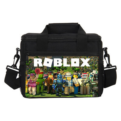 Roblox Print Thermal Insulated Lunch Bag Boys Girls Picnic Food Fruit Ice Chests - Boys Food