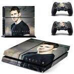 117 Sticker skin wrap ps4 stickers playstation 4 + 2x contro