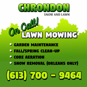 On Call Lawn Maintenance - Core Aeration *35$* / Lawn Mowing
