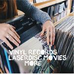 Vinyl Records/LaserDisc Movies/More