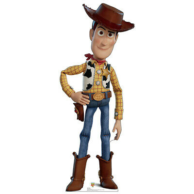 WOODY Toy Story 4 Bigger Than Lifesize CARDBOARD CUTOUT Standup Standee Disney - Cardboard Standees