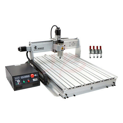 Cnc 8060 3 Axis 1500w Usb Mach3 Wood Router Engraver Metal Pcb Milling Machine