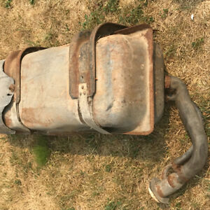 Gas tank for 70's Chevy truck