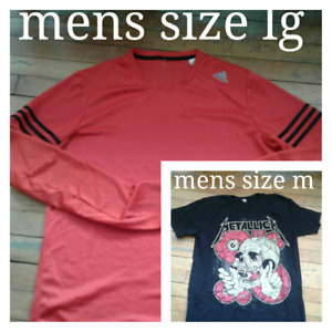 Mens size m tees