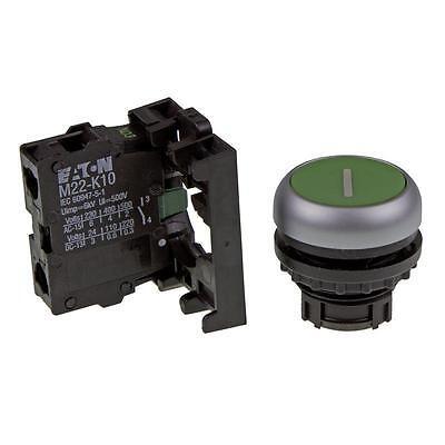 Drucktaster Komplettgerät Eaton 216512 - M22-D-G-X1/K10