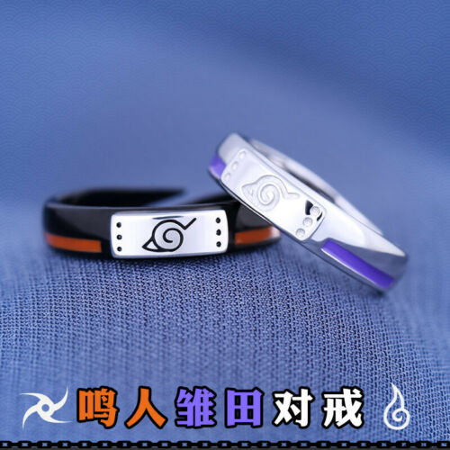 Naruto Uzumaki Naruto Hyuga Hinata Finger Ring Hand Rings Jewelry 925 Silver N