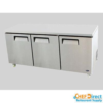 Atosa Mgf8404gr 72 Three Door Undercounter Refrigerator