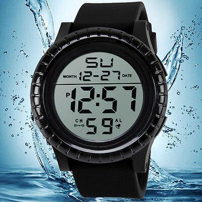 Fashion Men's Sport LED Digital Date Timer Sport Quartz Wrist Watches Best