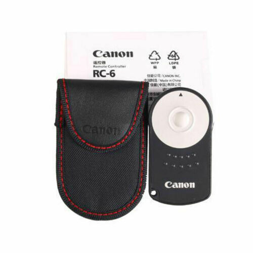 For Canon RC-6 DSLR Cameras Wireless Infrared Remote Control EOS M 5D Mark 650D