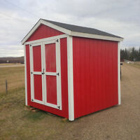 Shed 8ft x 8ft - On skids - READY TO GO!