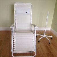 Chaise Lafuma blanche