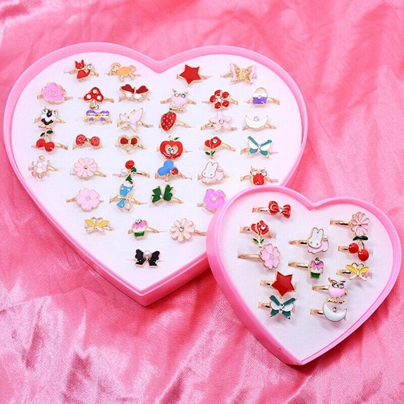 10pcs/set Cute Rings Jewelry for