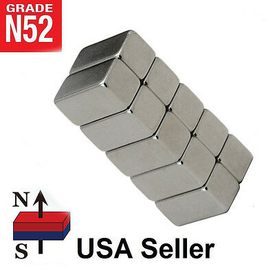 Lot 10 25 50 12 X 14 X 14 Barsblocks Neodymium Rare Earth Magnet N52