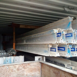 Contractor Special -Aluminum Shoring and Joists in 20ft Sea Can